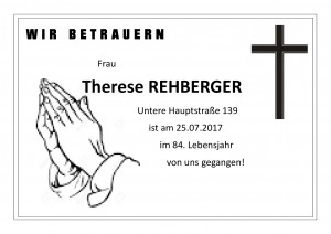 Therese Rehberger