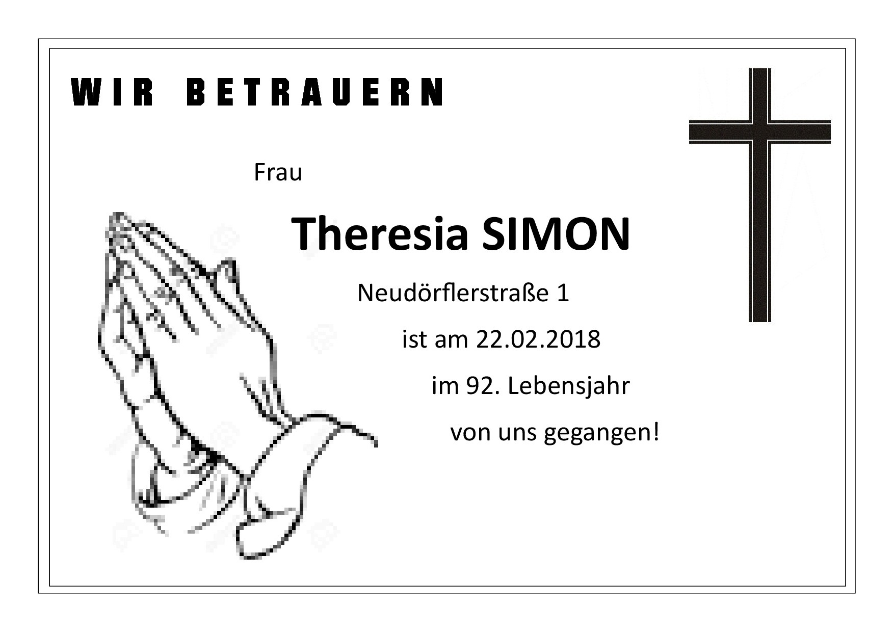Theresia Simon 1
