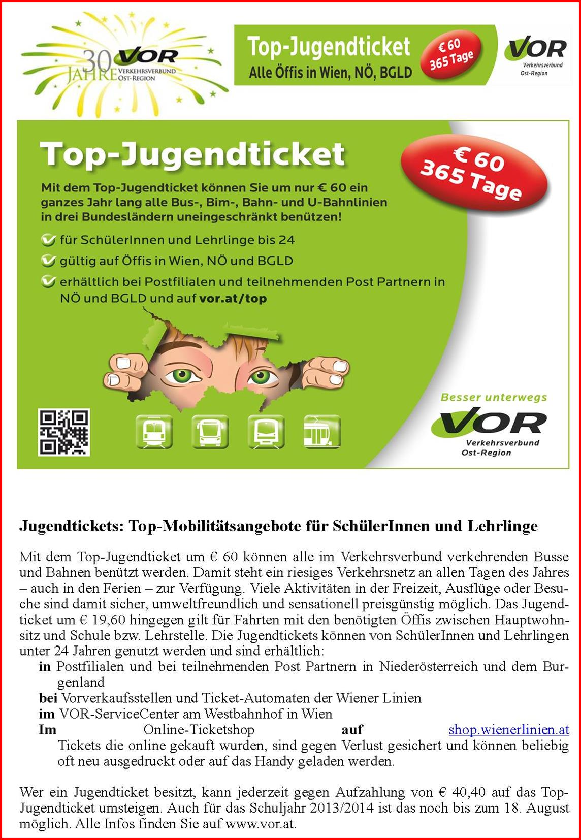 Top Jugendticket